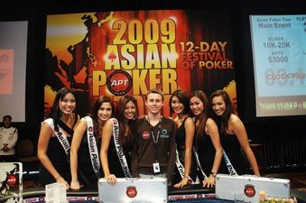 Adrien Allain Wins the 2009 APT Macau Main Event