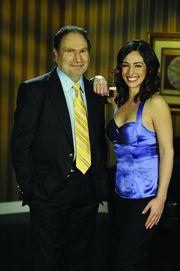 Gabe Kaplan and Kara Scott