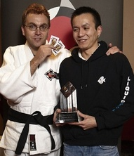 Paul Pham and Neil Channing at Black Belt London Live Event