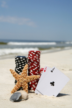 Florida can now boast great poker action, alongside their great beaches.