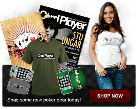 Shop at the new Card Player poker store now!