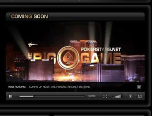 A promo video for The PokerStars.net Big Game