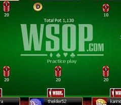 The WSOP is now offering play-money games to U.S. residents.