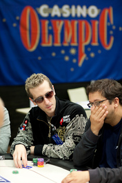 Bertrand Grospellier Credit: Neil Stoddart and PokerStars