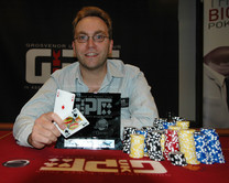 Neil Channing wins GUKPT Luton