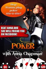 Anna Chapman poker