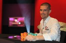 Poker Million Finalist Gus Hansen. Credit: Mickey May/Matchroom Poker