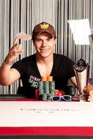 EPT Vienna Champ Michael Eiler. Credit: Neil Stoddart and PokerStars