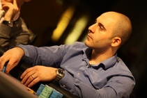 Nick Abou Risk. Credit: Mickey May and PokerStars