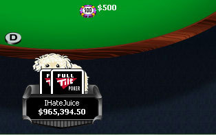 IHateJuice on Full Tilt Poker