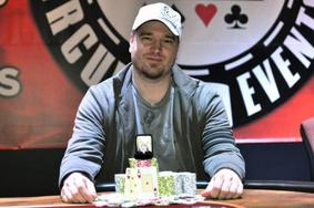 David Clark beat a field of 934 others to win Event No. 2 at WSOPC Choctaw. Photo courtesy of WSOP.