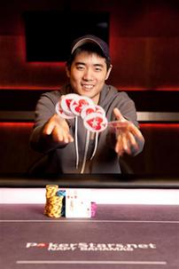 Andrew Chen Wins -- Photo Courtesy of PokerStars