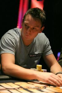 Day 1 Chip Leader Sam Trickett