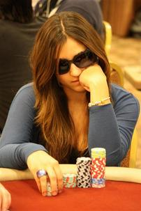 Ana Marquez doubled up during the first level on day 2