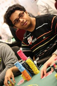 Vivek Rajkumar holds over 1 Million Heading into Day 3