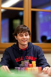 Chip leader Philip Meulyzer. Credit: Neil Stoddart and PokerStars
