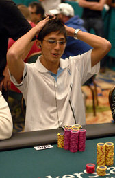 Andrew Li at the PokerStars Caribbean Adventure