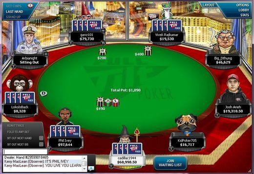 Full tilt poker 2-7 triple draw