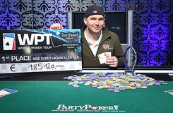 McLean Karr won the 2011 WPT Vienna high roller event. Credit: PartyPoker