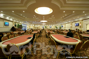 The Bicycle Casino Tournament Room