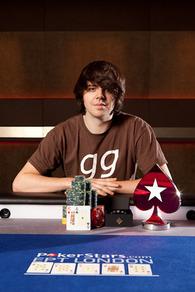 Benny Spindler Photo Courtesy of PokerStars