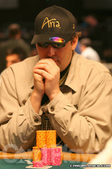 Hellmuth bubbles final table of 2011 WSOPE event no.1