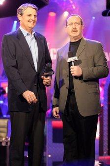 Lon McEachern and Norman Chad