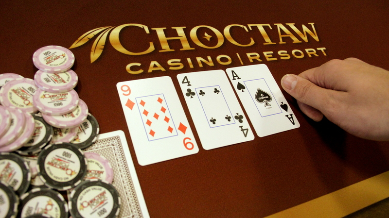 Choctaw casino daily poker tournaments