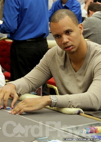 Phil Ivey at Commerce Casino on Friday