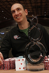 Erik Seidel won two six-figure buy-in events in 2011