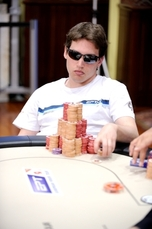 Scott Baumstein leads. Credit: PokerStarsBlog.It