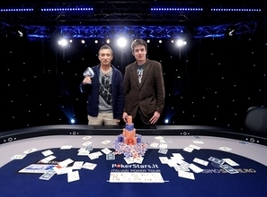 Davide Biscardi and Philippe Clerc. Credit: PokerStars.it