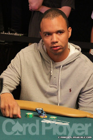Ivey on Day 1 of 2012 World Series of Poker Event No. 2