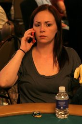Raechel Whetstone Sweats The Bubble As The Shortest Stack In The Room