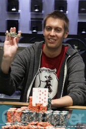 2012 WSOP $1,500 no-limit hold'em champion Brent Hanks