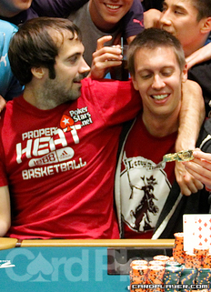 Jason Mercier and Brent Hanks