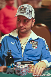 Daniel Negreanu on day 2