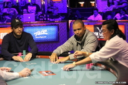 Cassidy, Ivey and Nguyen three-handed