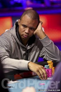 Ivey at one of his final tables