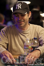 David Singer was the only player eliminated on day 1