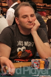 Chip leader Andy Bloch