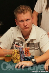 2011 Main Event 3rd place finisher Ben Lamb in contention again