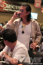 Scotty Nguyen was eliminated on day 1B