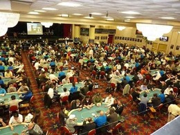 Commerce Casino Tournament Room