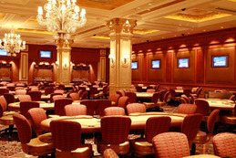 Venetian Poker Room Before Renovations