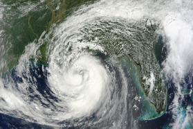 Hurricane Isaac Hits The Gulf Coast