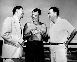 Dandolos With Greenspun and Jack Dempsey
