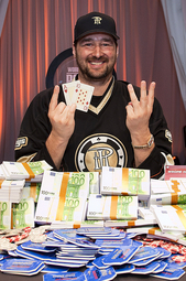 13-time WSOP bracelet winner Phil Hellmuth
