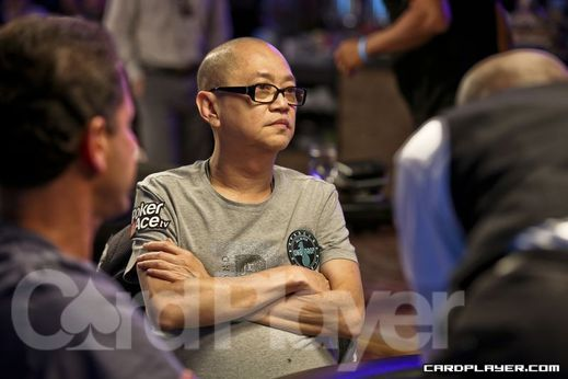 Richard Young at the 2012 WSOP