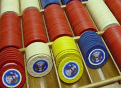 The Presidential Poker Chips